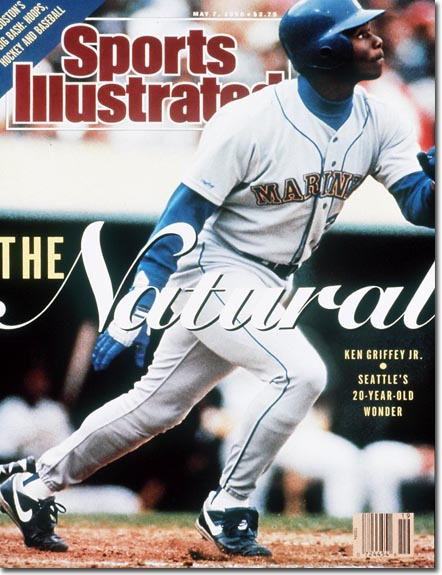 Ken Griffey Jr., the Natural, on the cover of Sports Illustrated