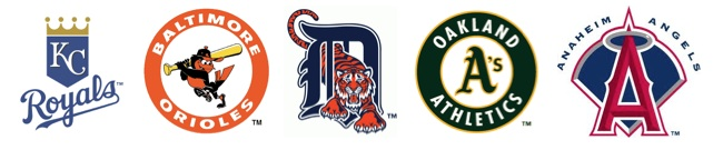 2014 American League teams in the postseason