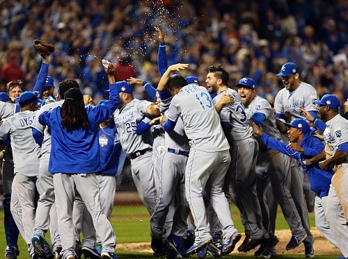 2015 World Series champion Kansas City Royals