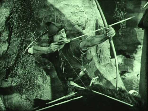Douglas Fairbanks, the first and most athletic Robin Hood