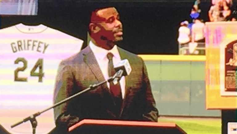 Ken Griffey Jr. speech