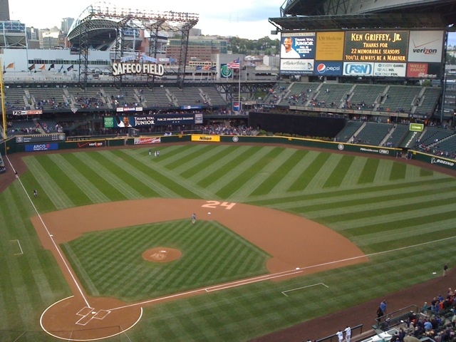 Safeco Field without Ken Griffey Jr.