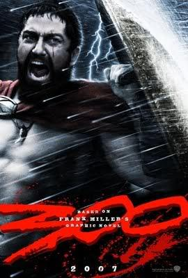 "poster for ""300"""