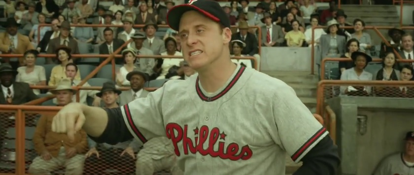 Alan Tudyk as Ben Chapman in '42""