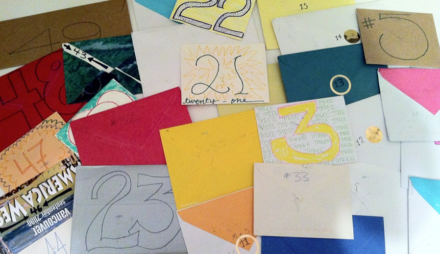 50 birthday envelopes