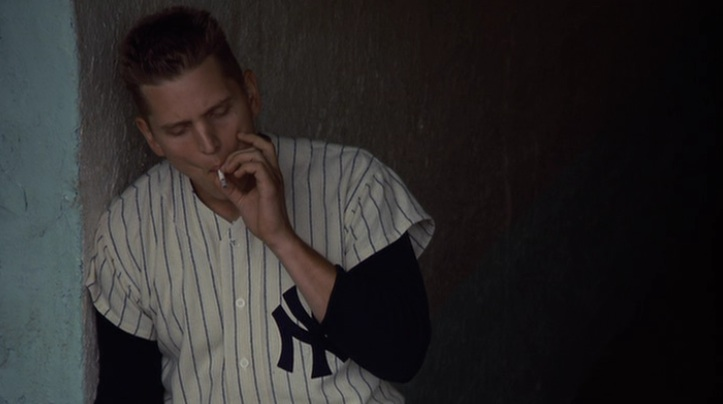 "Barry Pepper as Roger Maris in Billy Crystal's ""61*"""