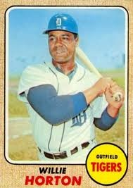 1967 Topps Willie Horton card