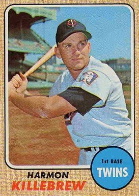 1967 Topps Harmon Killebrew card