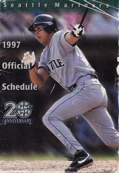 Alex Rodriguez on the 1997 Seattle Mariners schedule