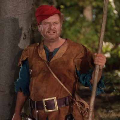"Alan Hale as Little John in ""Robin Hood"" (1938)"