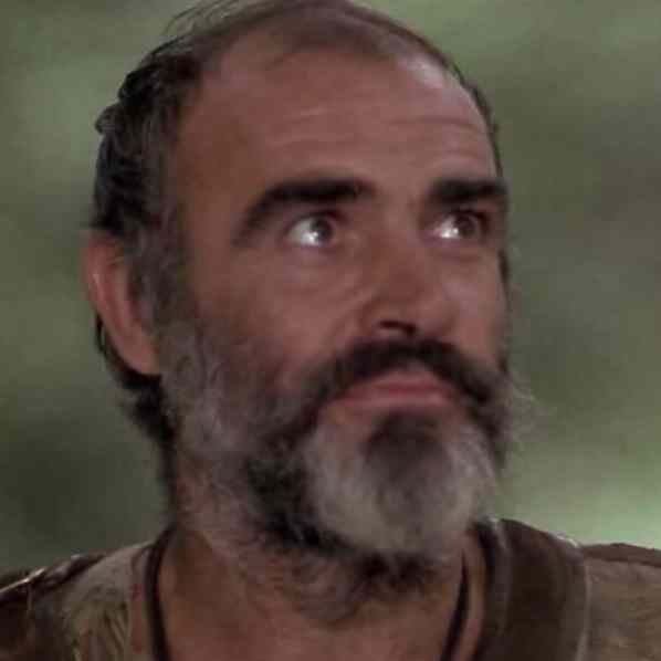 "Sean Connery as Robin Hood in ""Robin and Marian"" (1976)"