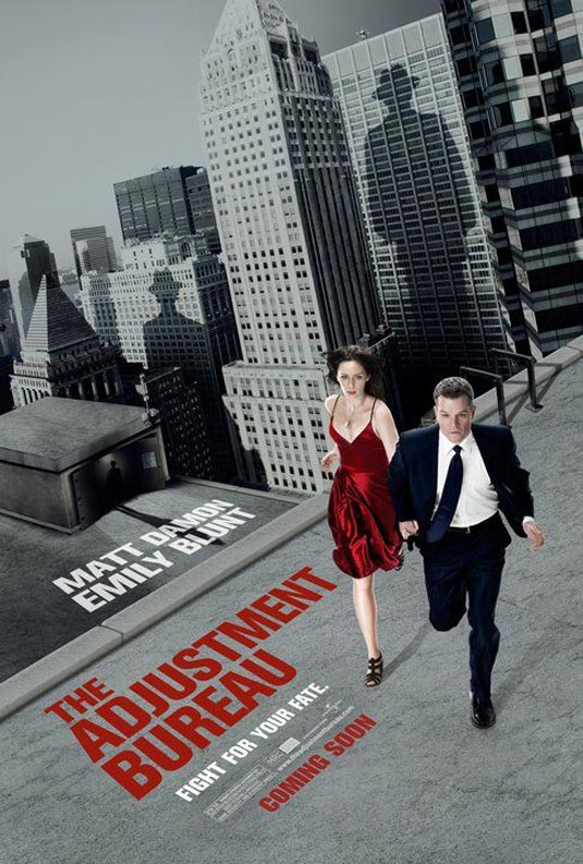 "poster for ""The Adjustment Bureau"" (2011)"