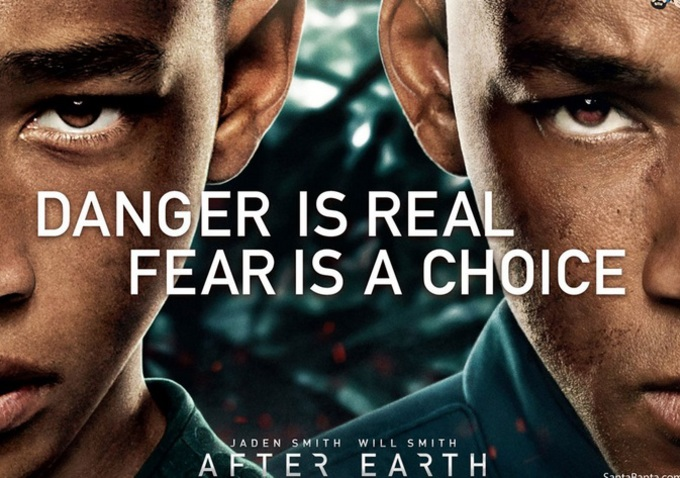 After Earth poster horizontal