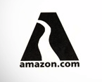 Original logo for amazon.com