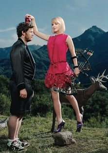 Anna Faris in The New Yorker, April 2011
