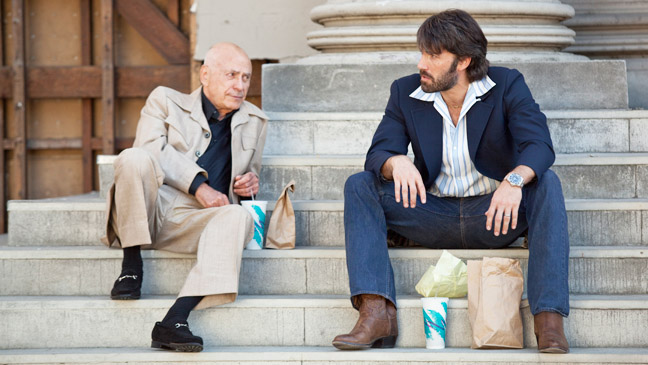 "Alan Arkin and Ben Affleck in ""Argo"""