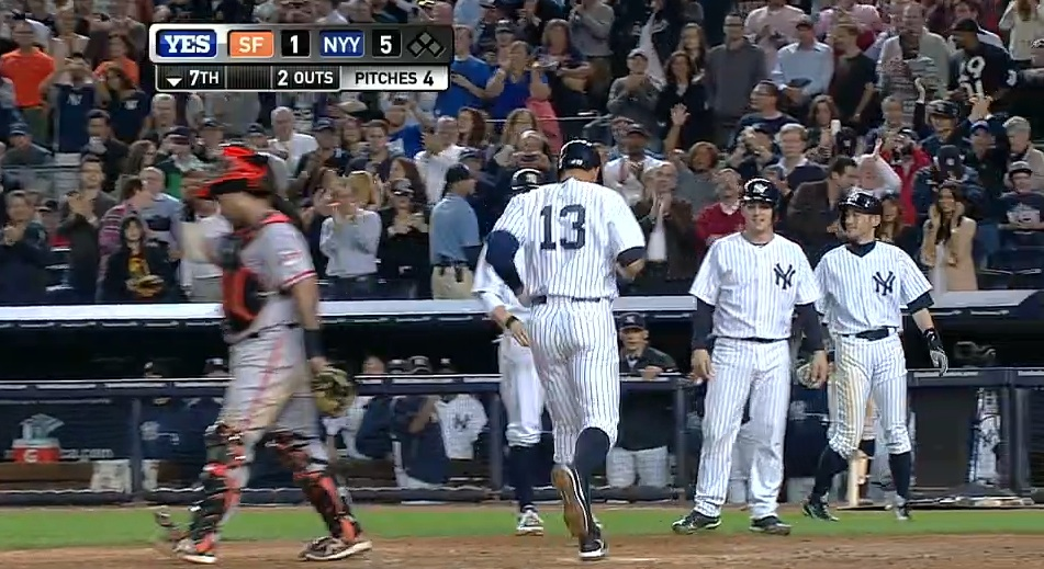 Alex Rodriguez's record-setting 24th career grand slam