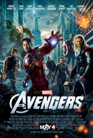 The Avengers (2012) movie poster
