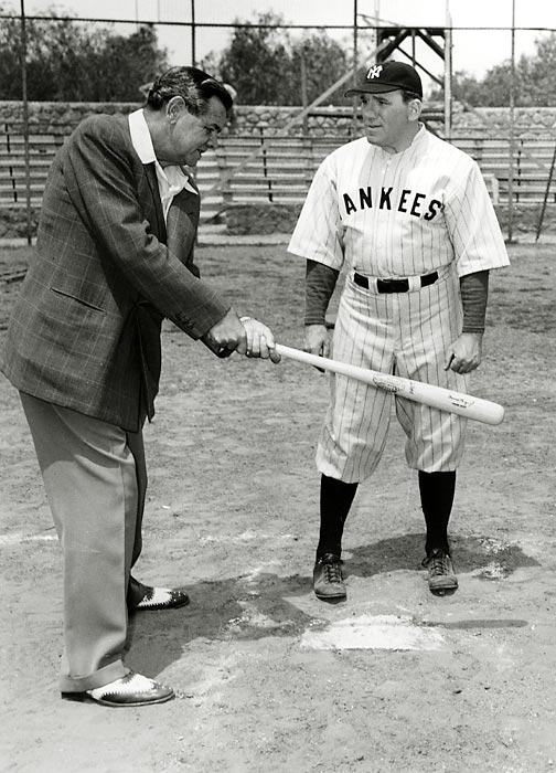 Babe Ruth and William Bendix