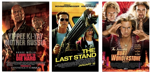 Some of the bad movies of the first three months of 2013