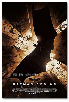 "Poster for ""Batman Begins"" (2005)"