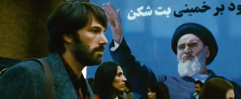 "Ben Affleck in Iran in ""Argo"""