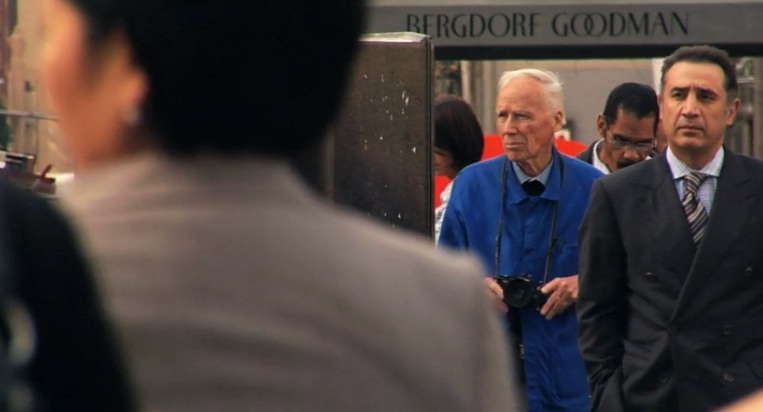 Bill Cunningham, seeking beauty