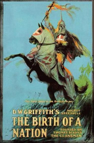 "poster for ""Birth of a Nation"" (1915)"