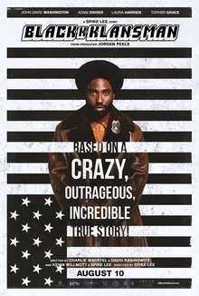 Review of BlacKkKlansman