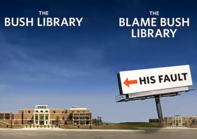 The Blame Bush Presidential Library