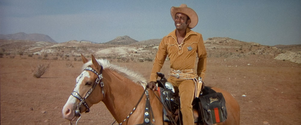 Cleavon Little in Blazing Saddles
