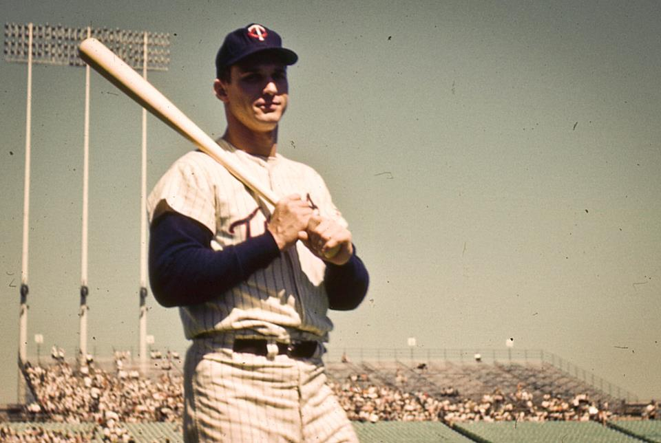 Bob Allison on Camera Day, Met Stadium, 1962