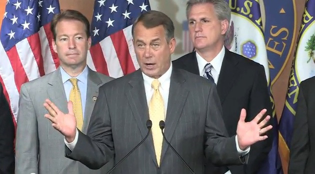 "John Boehner uses the term ""job creators"" to lie to the American people again."