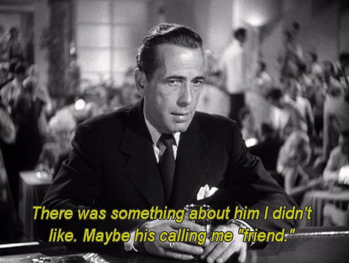 "Bogart in ""Dead Reckoning"""
