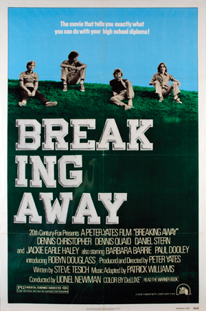 "poster for ""Breaking Away"" (1979)"