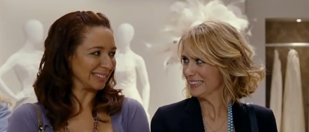 "Kristin Wiig and Maya Rudolph in ""Bridesmaids"" (2011)"