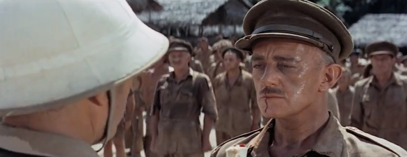 "Alec Guinness in ""Bridge on the River Kwai"" (1958)"