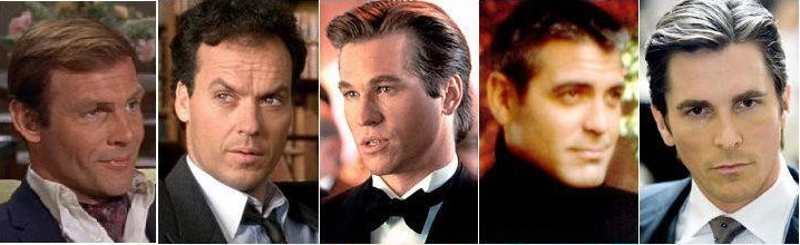 Bruce Wayne: from Adam West to Christian Bale