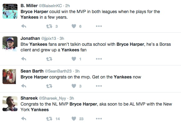 Bryce Harper will look good in pinstripes