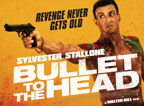 """Bullet to the Head"" banner poster"