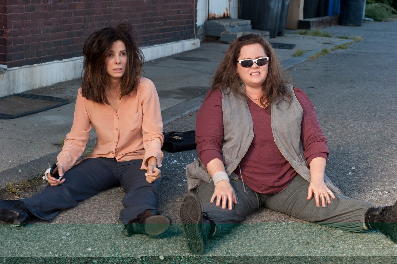 "Sandra Bullock, Melissa McCarthy in ""The Heat"""