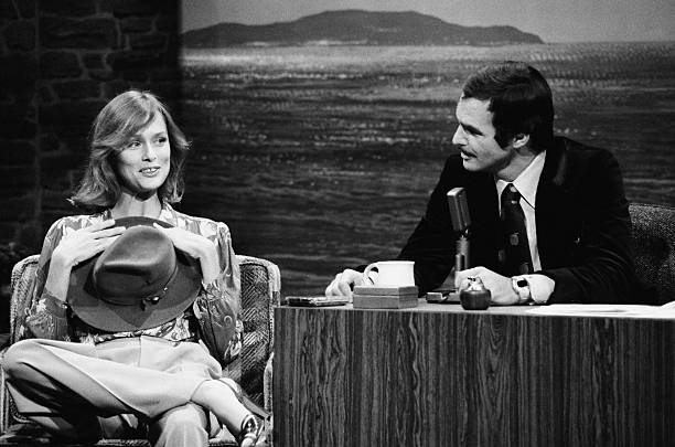 Burt Reynolds hosting the Tonight Show
