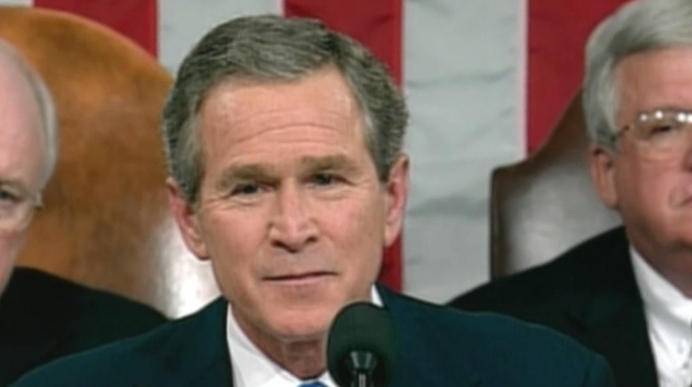 Bush 2003 state of the union address