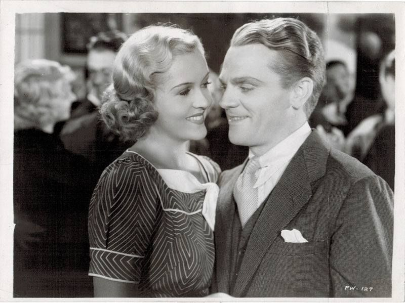 "Patricia Ellis and James Cagney in ""The St. Louis Kid"""