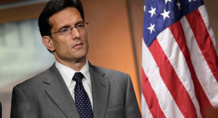 Eric Cantor, defeated