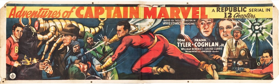 review of the 1941 movie serial The Adventures of Captain Marvel