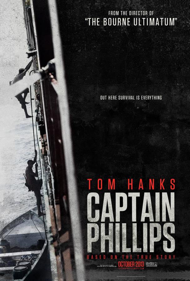 Captain Phillips domestic poster