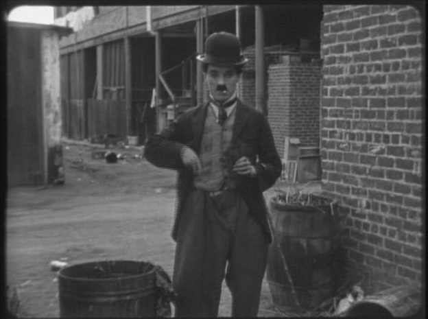 "Charlie Chaplin in ""The Kid"" (1921)"