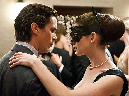 "Bruce Wayne, Selina Kyle in ""The Dark Knight Rises"" (2012)"
