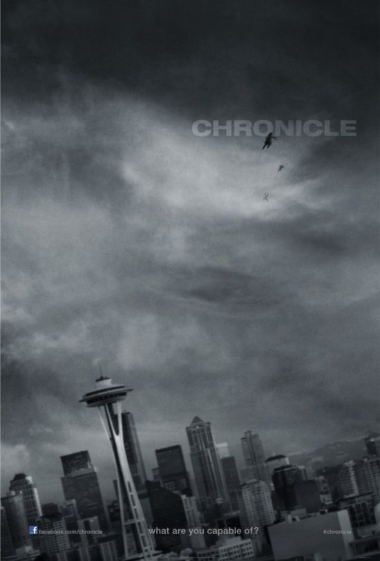 "poster of ""Chronicle"" (2012)"